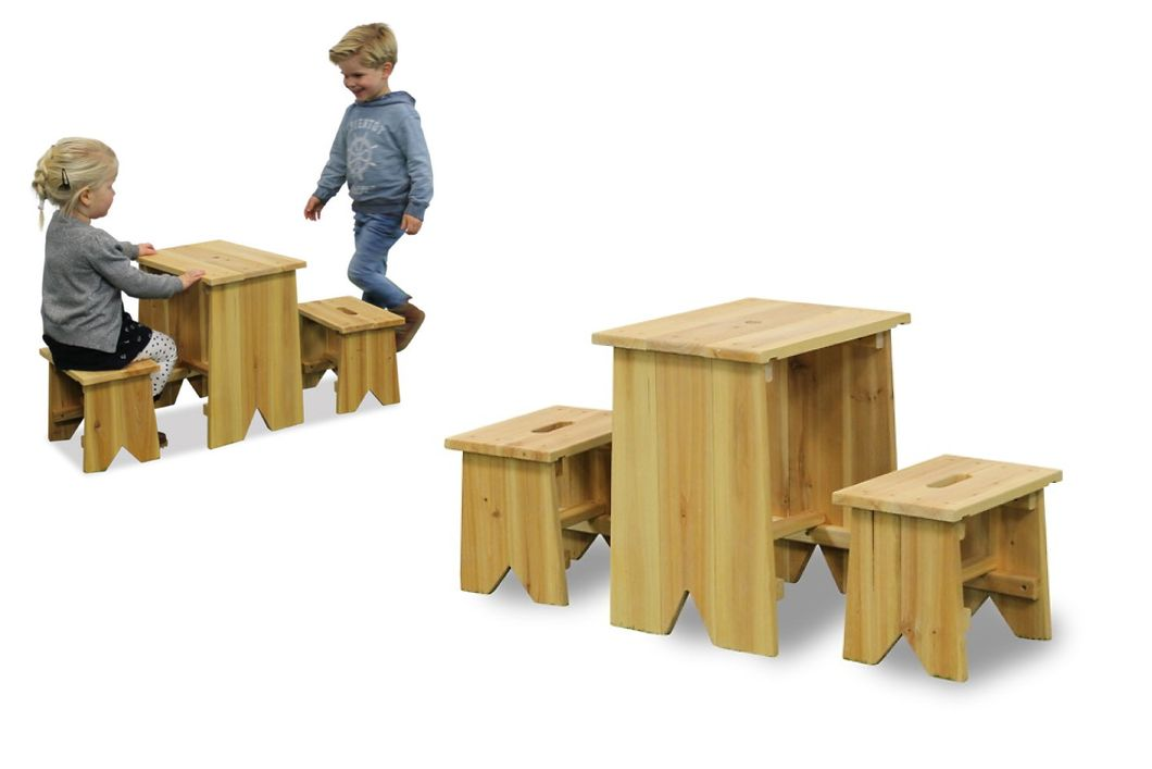 kinder holz gartenbank picknick set gr e l kinder sitzgruppe kinderbank vom gartenm bel. Black Bedroom Furniture Sets. Home Design Ideas
