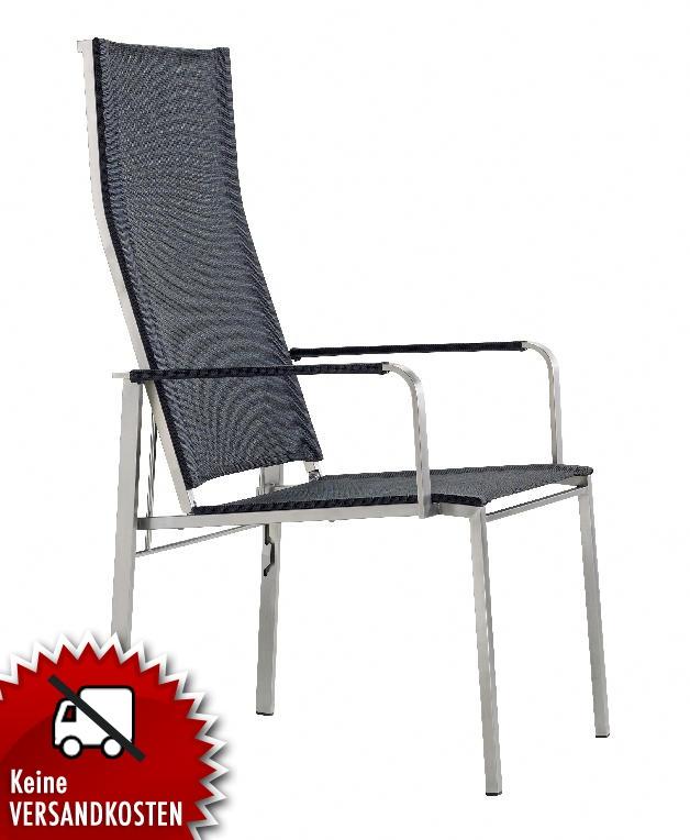 gartenstuhl verstellbare r ckenlehne gn38 hitoiro. Black Bedroom Furniture Sets. Home Design Ideas
