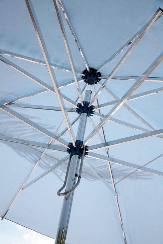 Bauhaus Gartenmobel Kunststoff :  quadratisch Stockschirm, Aluminium Parasol  GartenmöbelOnlineshop