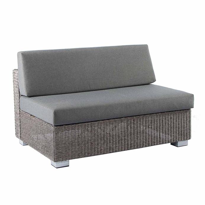 Berühmt Gartenbank Alexander Rose «MONTE CARLO» 2er Sofa Lounge VA82