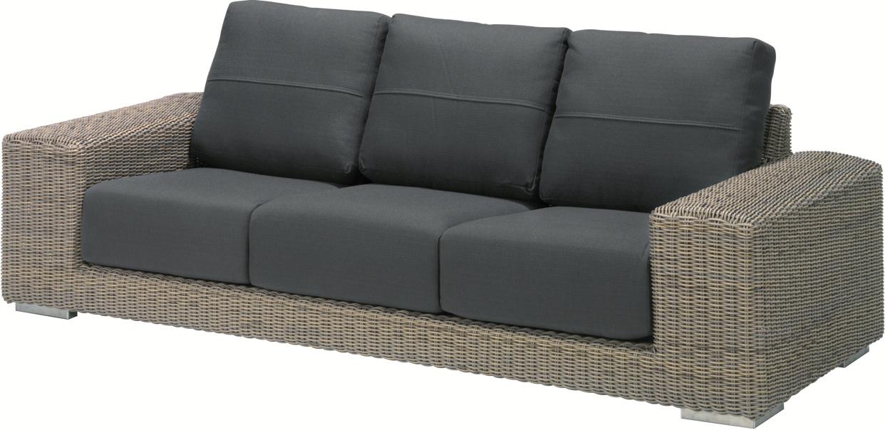 designer couch lederpolsterung gestept NEW YORK icf