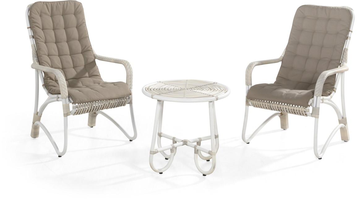 gartenstuhl olivia lounge sessel korbsessel geflecht mit kissen vom gartenm bel fachh ndler. Black Bedroom Furniture Sets. Home Design Ideas