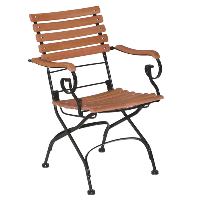 Geliebte Wunderschönen Gartenstuhl Holz Metall | Gartenbänke Ideen CJ75