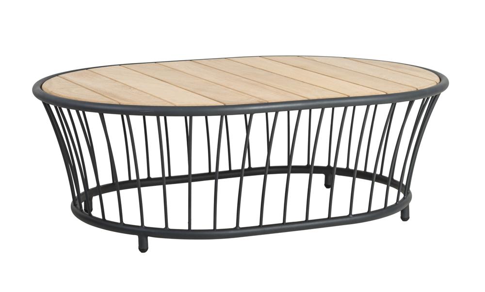 Gartentisch Alexander Rose Cordial Grau Couchtisch 120x85 Holztischplatte Vom Gartenmöbel Fachhändler