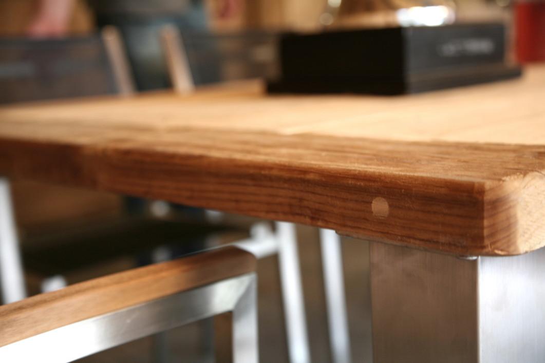 Holz gartentisch 4seasons casa 90x90 esstisch teakholz for Esstisch quadratisch 90x90