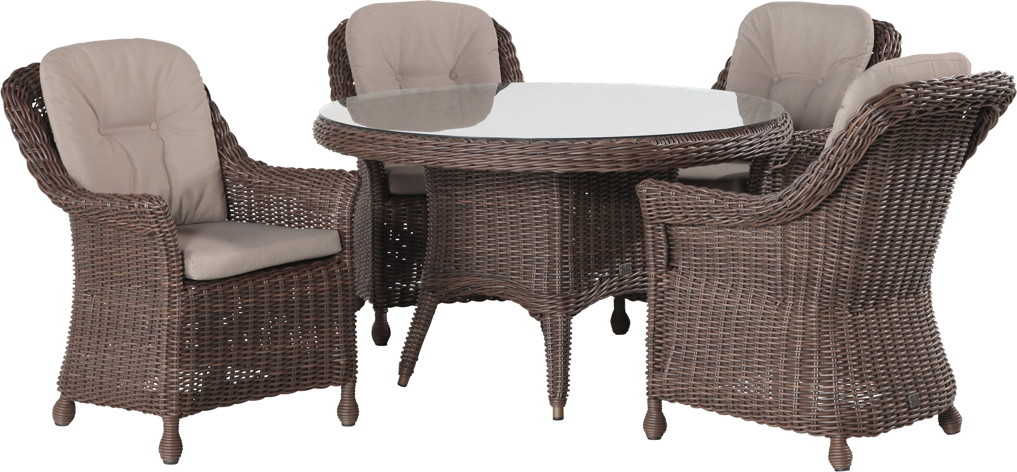 polyrattan outdoor sitzgruppe 4seasons madoera dining sitzgruppe geflecht vom gartenm bel. Black Bedroom Furniture Sets. Home Design Ideas