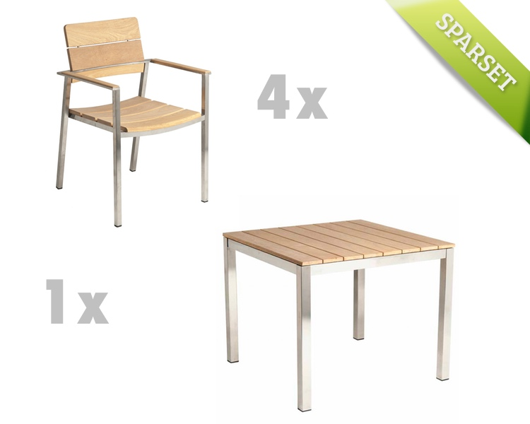 gartentisch alexander rose cologne 913 esstisch holz 90x90 holztisch vom gartenm bel. Black Bedroom Furniture Sets. Home Design Ideas