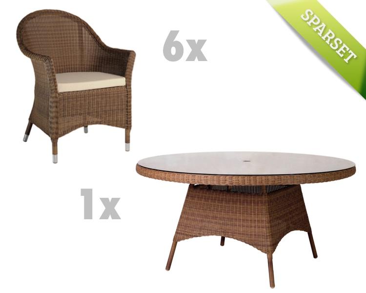 sitzgruppe alexander rose san marino gartenm bel set 3. Black Bedroom Furniture Sets. Home Design Ideas