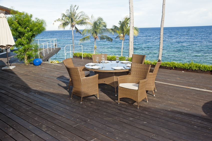 Balkonmobel Rattan Ikea : Sitzgruppe Alexander Rose «SAN MARINO Diningset» Set 3 Korbgruppe