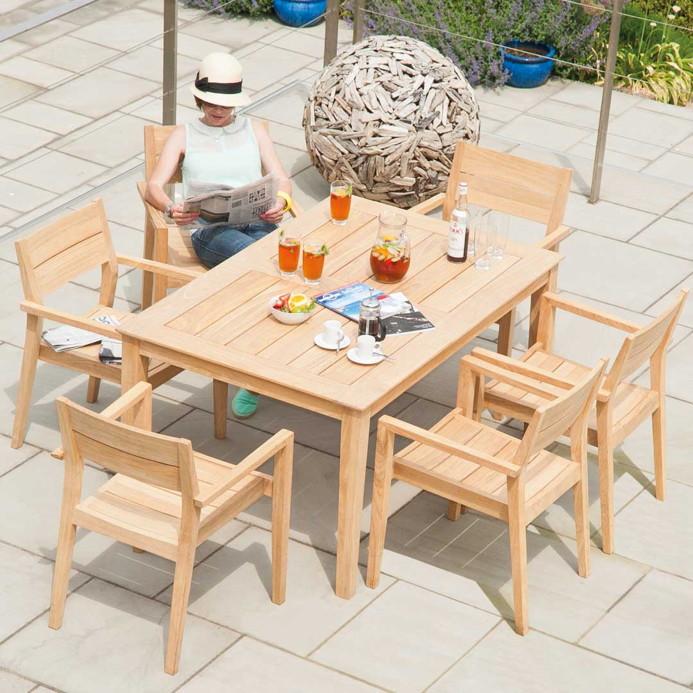 Gartentisch Alexander Rose «Roble Tivoli 80x80cm» Tisch ...