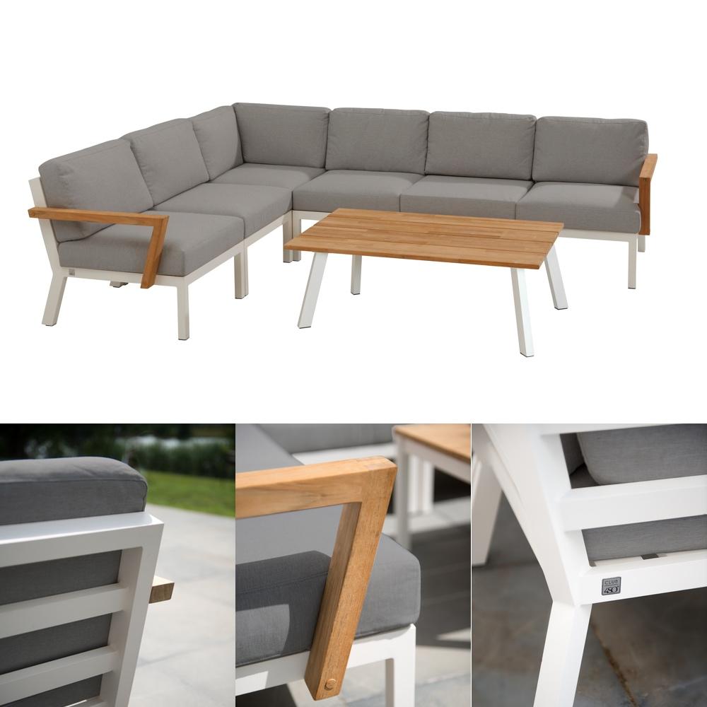 Sitzgruppe 4Seasons «Byron» Gartenmöbel Set 2, Lounge inkl. Kissen ...