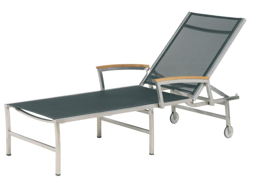 Teak Gartenmöbel Deckchair U0026 Sonnenliege Liege Liegestuhl Echt Teak  Deckchair Rollliege Pictures