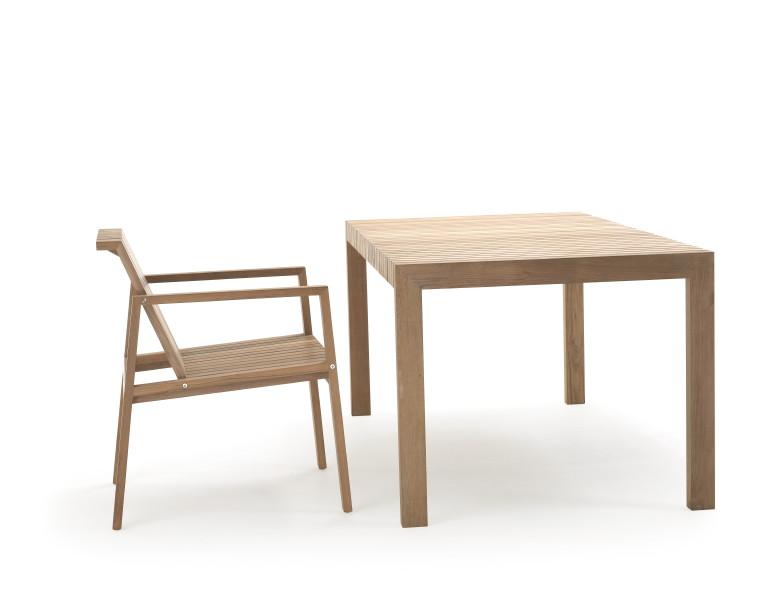 Gartentisch SOLPURI «Tabulus Teak» Holztisch, Esstisch  Online Shop