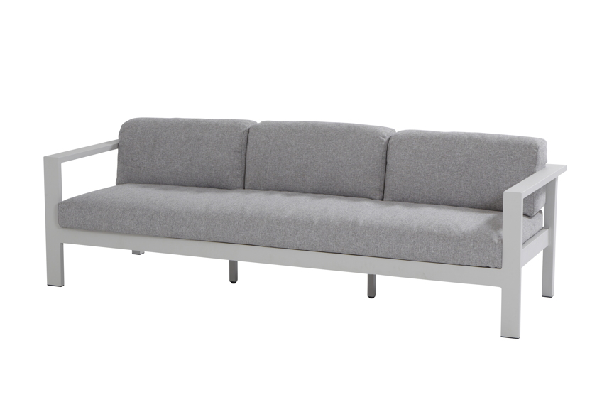 gartenbank 4seasons galaxy 3er sofa aluminium wetterfeste kissen ebay. Black Bedroom Furniture Sets. Home Design Ideas