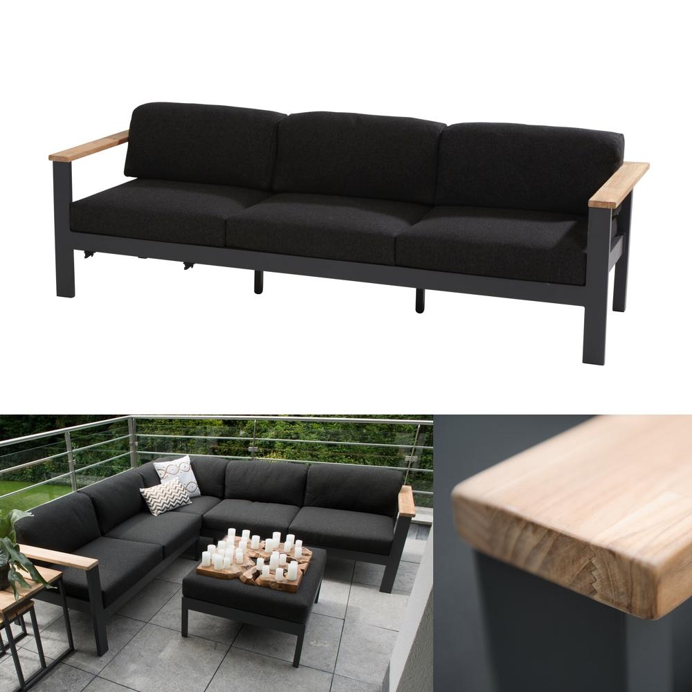 sitzgruppe 4seasons orion lounge set 2 gartenm ebelset. Black Bedroom Furniture Sets. Home Design Ideas