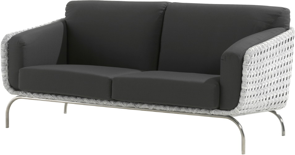 luxus polyrattan geflecht outdoor lounge sofa luton 2er sofa vom gartenm bel fachh ndler. Black Bedroom Furniture Sets. Home Design Ideas