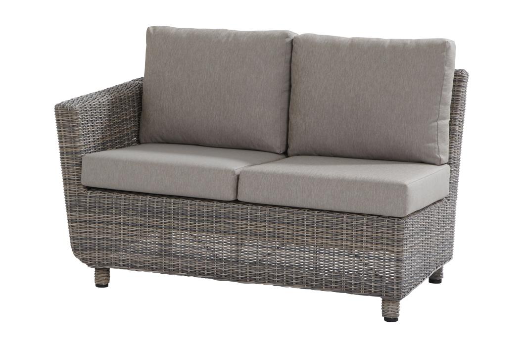 gartenbank rattan ohne armlehne 141424 eine. Black Bedroom Furniture Sets. Home Design Ideas