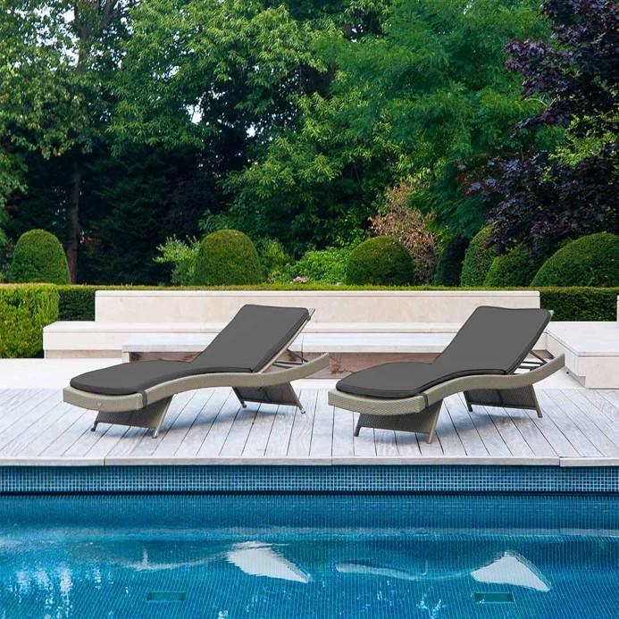 gartenliegen sonnenliegen liegeinseln zum sonnenbaden f r garten und freizeit g nstig kaufen. Black Bedroom Furniture Sets. Home Design Ideas