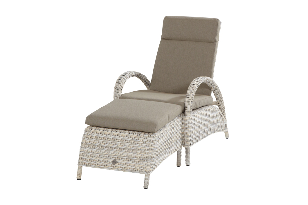 gartenstuhl relaxsessel elzas sessel mit hocker. Black Bedroom Furniture Sets. Home Design Ideas