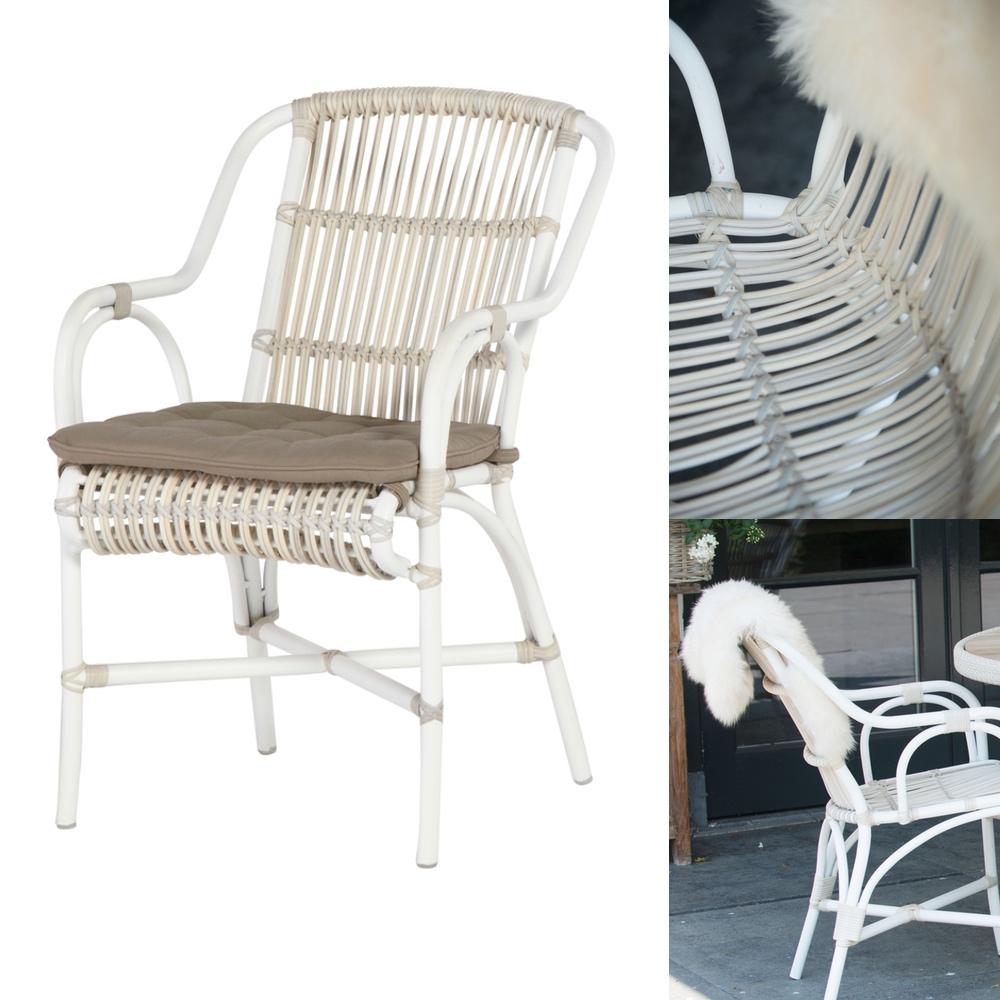 sitzgruppe 4seasons loire gartenm bel set 1 korbm bel rattan ebay. Black Bedroom Furniture Sets. Home Design Ideas