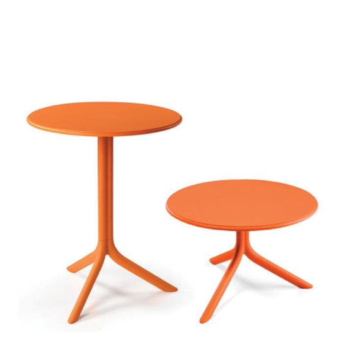 Esstisch Rund Orange ~ Gartentisch NARDI «Spritz Ø60,5cm orange» Bistrotisch, Esstisch, Balkontisch