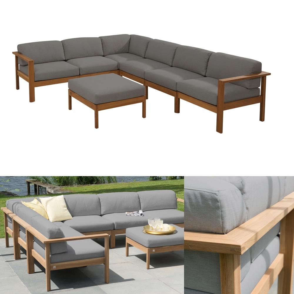 sitzgruppe 4seasons lido teak gartenm bel set 2 teakholz kissen vom gartenm bel fachh ndler. Black Bedroom Furniture Sets. Home Design Ideas