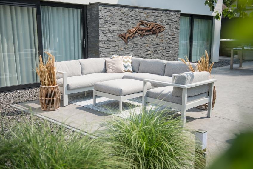 gartenstuhl sessel 4seasons galaxy loungesessel aluminium wetterfeste kissen vom. Black Bedroom Furniture Sets. Home Design Ideas